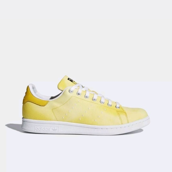 5f4db492215e9 ADIDAS MEN PW HU HOLI STAN SMITH SNEAKERS YELLOW W